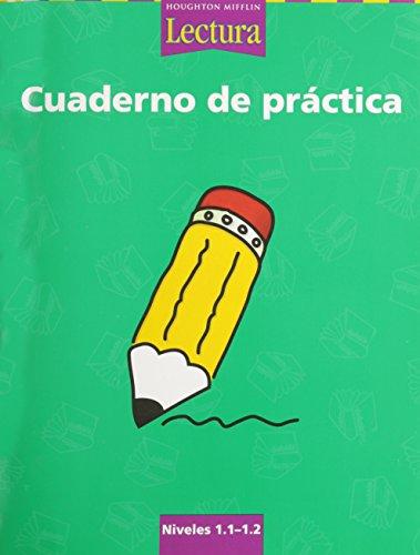 9780618235360: Lectura: Cuaderno de práctica Grades 1.1-1.2 (Spanish Edition)