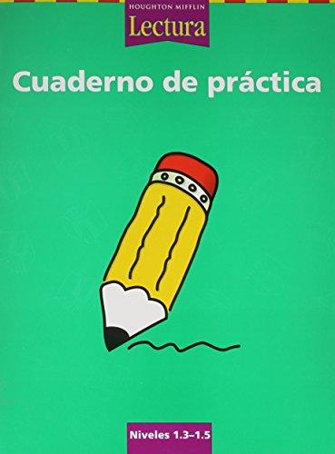 9780618235377: Lectura: Cuaderno de práctica Grades 1.3-1.5 (Spanish Edition)