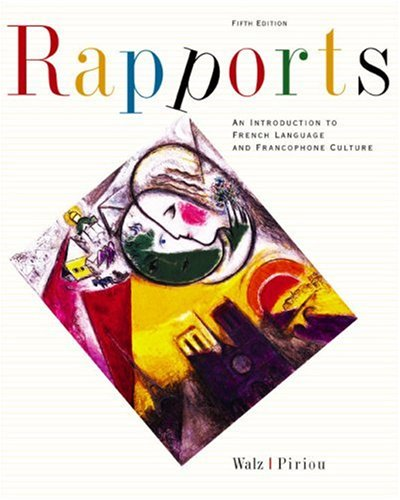 9780618239948: Rapports: An Introduction to French Language and Francophone Culture