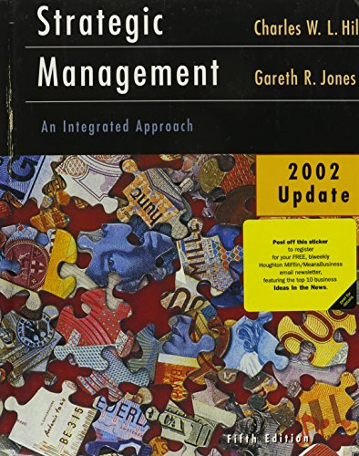 9780618241415: Strategic Management, Fifth Edition, 2002 Update With Cd-rom