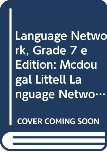 9780618245857: Language Network Grade 7 Student Text on CD-ROM