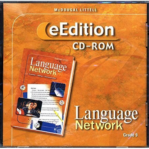 9780618245871: McDougal Littell Language Network: eEdition CD-ROM Grade 9 2003