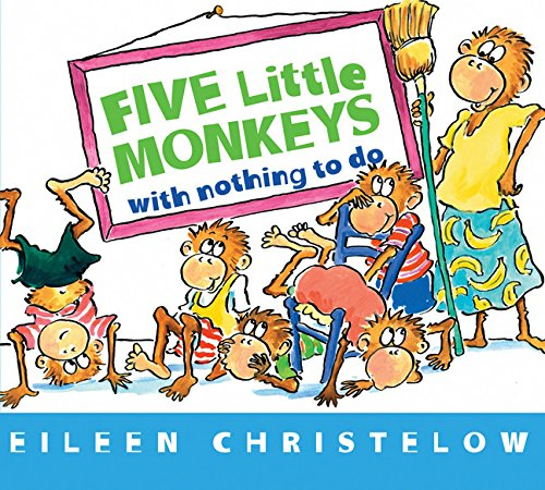 9780618246151: Five Monkeys Nothing to Do (Five Little Monkeys)