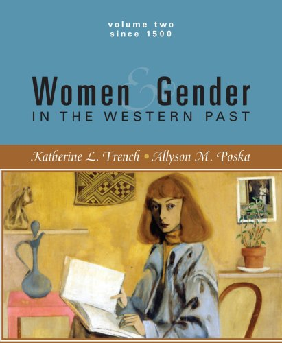 9780618246250: Women and Gender in the Western Past -1500 To Present -Volume II