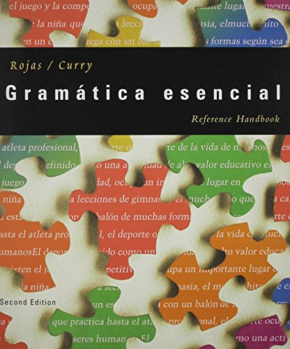 9780618246298: Grammar Reference for Rojas/Curry' Gramatica esencial, 2nd