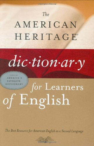 9780618249510: The American Heritage Dictionary for Learners of English