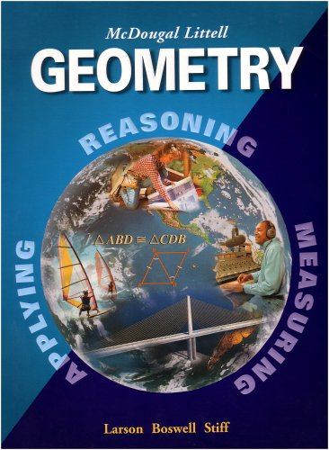 9780618250226: Geometry, Grades 9-12: Mcdougal Littell High School Math