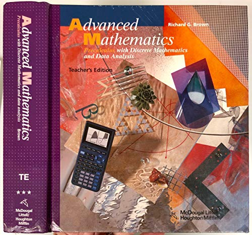 9780618250394: Advanced Mathematics - Teacher Edition