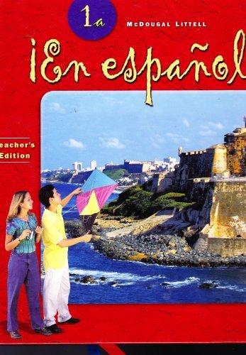 9780618250608: ?En espa?ol!: Teacher Edition 2004