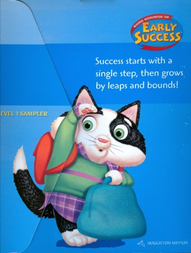 9780618252428: Early Success, Reading Intervention Kit Level 1: Houghton Mifflin Early Success (Hmr Early Success Lib 03)