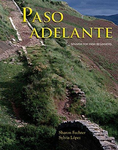 Paso Adelante (Paperback): Sharon Ahern Fechter, Sylvia Lopez