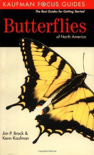9780618254002: Butterflies of North America (Kaufman Focus Guides)