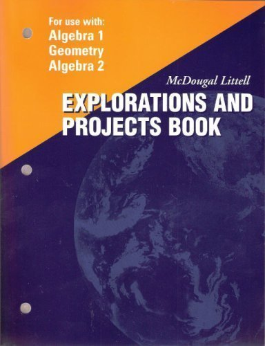 McDougal Littell Explorations and Projects Books (For: McDougal Littell
