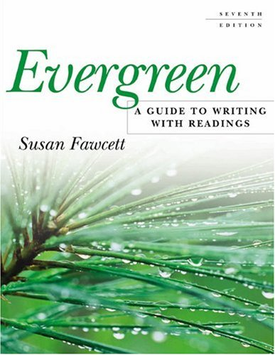 9780618256587: Evergreen: A Guide to Writing with Readings