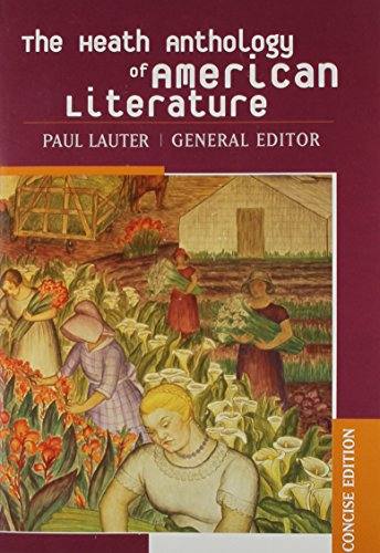 9780618256631: The Heath Anthology of American Literature, Concise Edition
