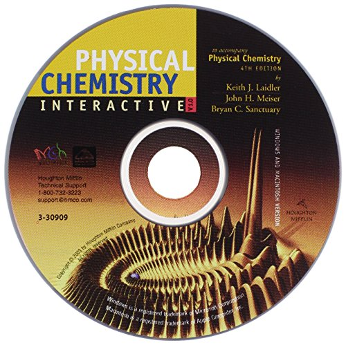 9780618257690: Phy Chem CD F Pkg 4ed