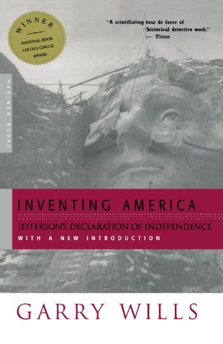 9780618257768: Inventing America: Jefferson's Declaration of Independence