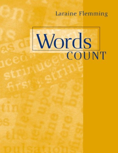 Words Count: Laraine E. Flemming