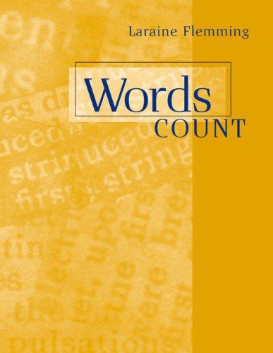 9780618258611: Words Count