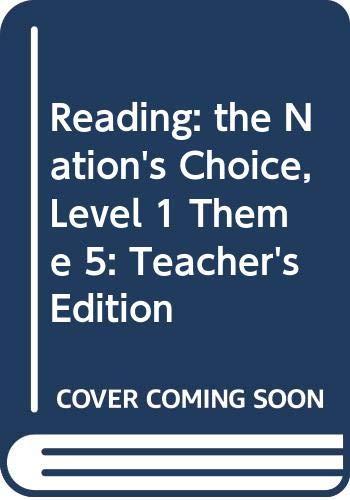 9780618258932: Houghton Mifflin Reading: Surprises, Teacher's Edition, Grade 1, Level 1.3, Theme 5: Home Sweet Home: Focus on Poetry