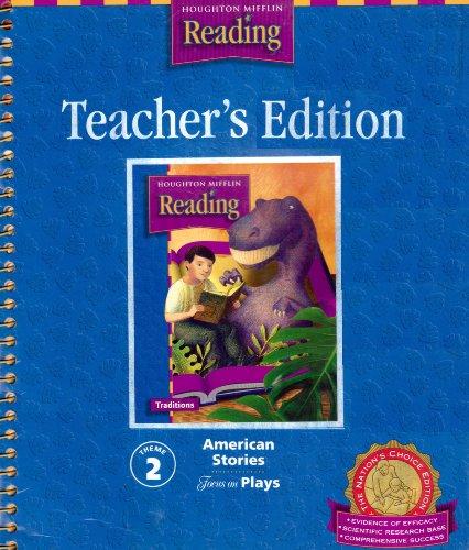9780618259120: Houghton Mifflin Reading: The Nation's Choice: Teacher's Edition Level 4 Th 2 2003