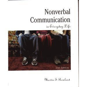 9780618260201: Nonverbal Communication in Everyday Life