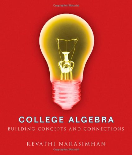 9780618260355: College Algebra: Building Concepts and Connections