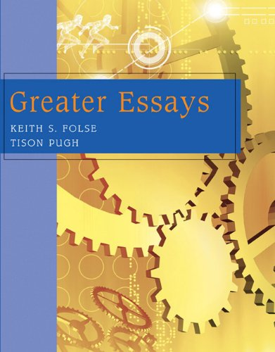 9780618260461: Greater Essays