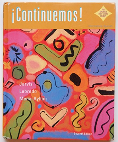 9780618262359: CONTINUEMOS AP 7E (Spanish and English Edition)