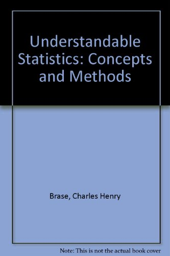 9780618266746: Understandable Statistics: Concepts and Methods