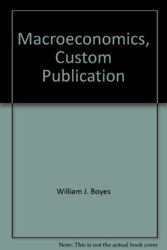 9780618266982: Macroeconomics, Custom Publication