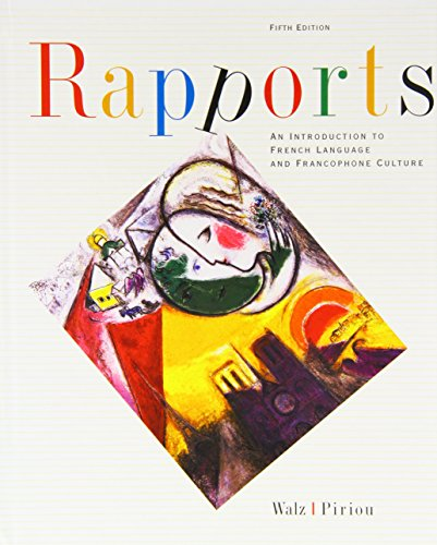 9780618267057: Rapports: An Introduction To French Language And Francophone Culture