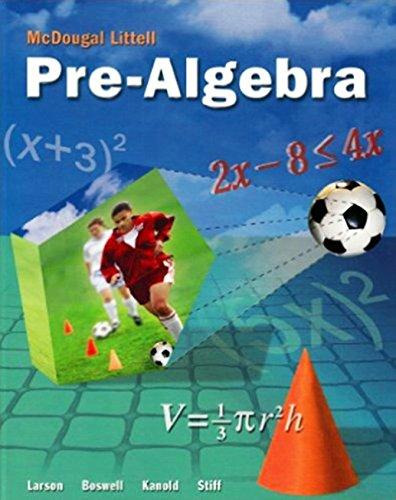 McDougal Littell Pre-Algebra: Resource Book Chapter 12: MCDOUGAL LITTEL