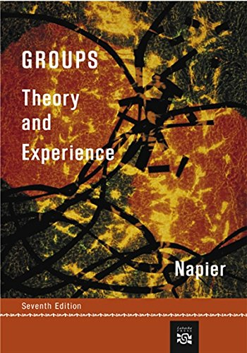 9780618270446: Groups: Theory and Experience (Group Counseling)