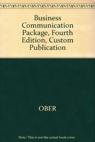 9780618272389: Contemporary Business Communication Fourth Edition