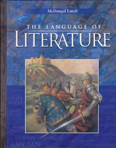 9780618276578: The Language of Literature: Level 10 California Edition
