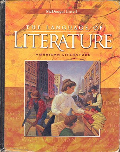 9780618276585: Language of Literature: American Literature