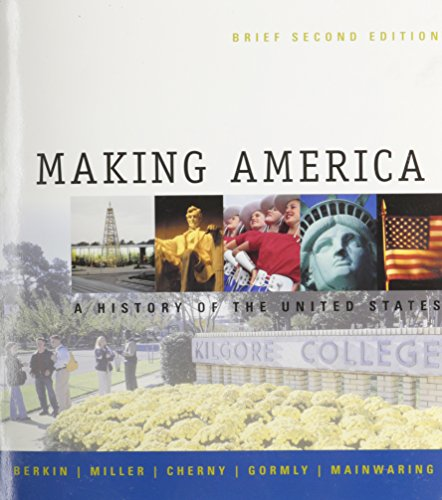 Making American Brief, Custom Publication (0618276904) by Berkin, Carol