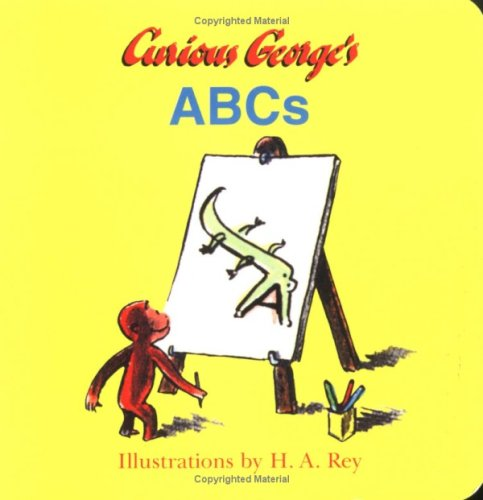 9780618277087: Curious George's ABCs