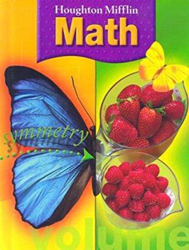 9780618277209: Houghton Mifflin Math (C) 2005: Student Book Grade 3 2005