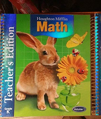 9780618277957: Houghton Mifflin Mathmatics: Teach Ed Cmplt Level K 2005