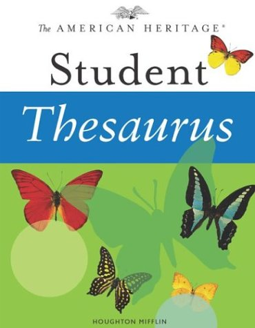 9780618280292: The American Heritage Student Thesaurus