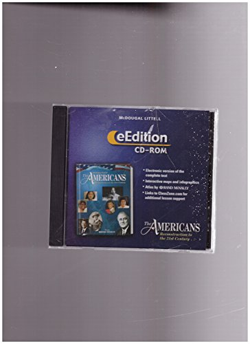 9780618284887: The Americans: eEdition CD-ROM Grades 9-12 Reconstruction to the 21st Century 2003