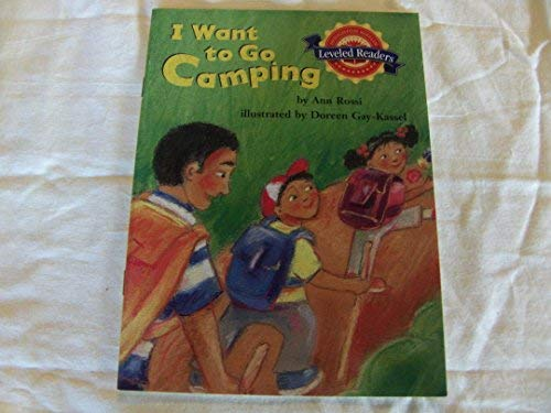 9780618287116: Houghton Mifflin Reading Leveled Readers: Level 2.2.1 on LVL I Want to Go Camping