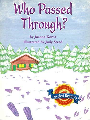 Who Passed Through (Leveled Readers): Joanna Korba