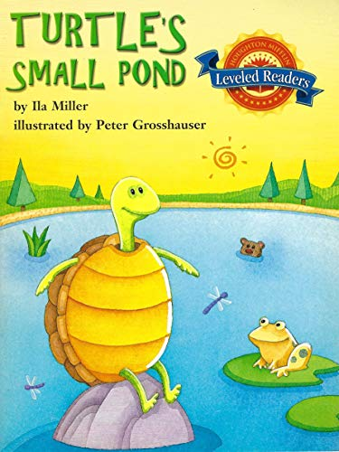 9780618287543: Houghton Mifflin Reading Leveled Readers: Level 2.4.3 on LVL Turtle's Small Pond