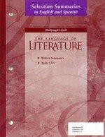 9780618289950: McDougal Littell Literature: Selection Summaries in Spanish Audio CD Package World Literature (Spanish Edition)