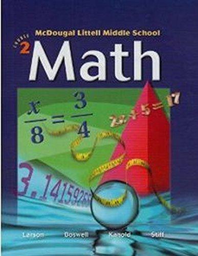 9780618291502: McDougal Littell Middle School Math New York: Students Edition Book 2 2004