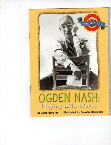 Ogden Nash : Playing With Words: QINGLING, JIANG