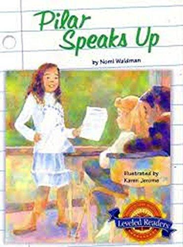 9780618293179: Houghton Mifflin Reading Leveled Readers: Level 4.5.1 On Lvl Pilar Speaks Up